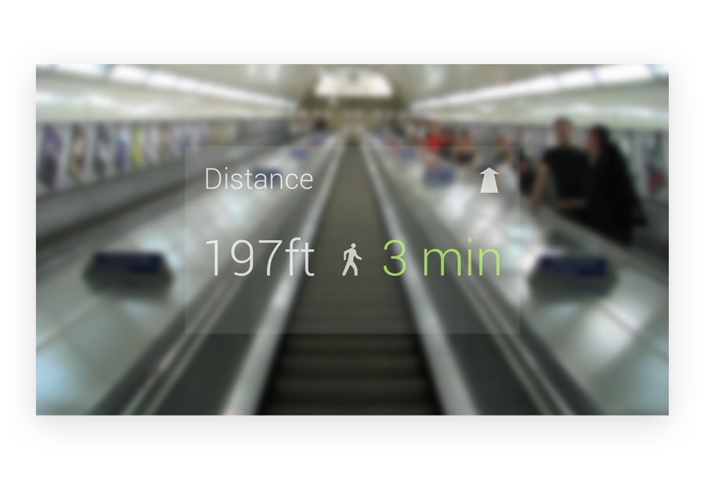 Google Glass - Distance