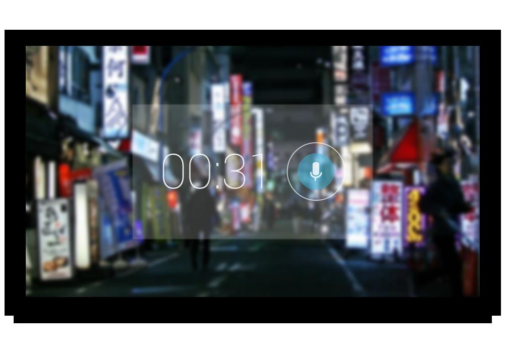 Google Glass - Voice Memo