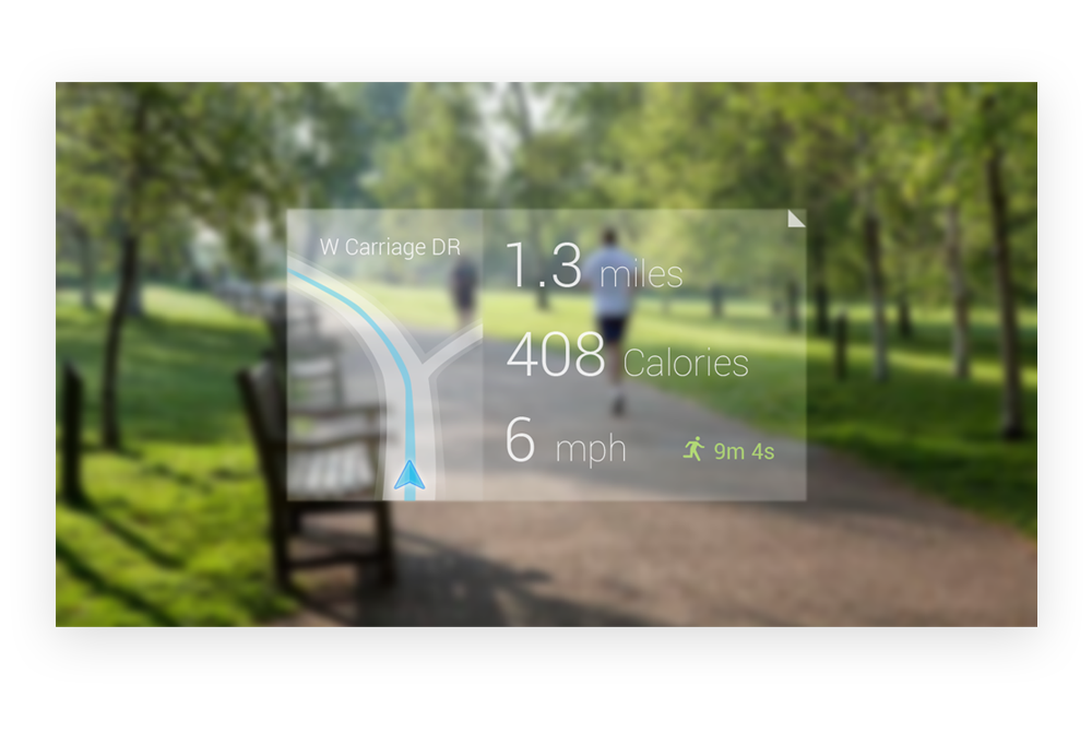 Google Glass - Running