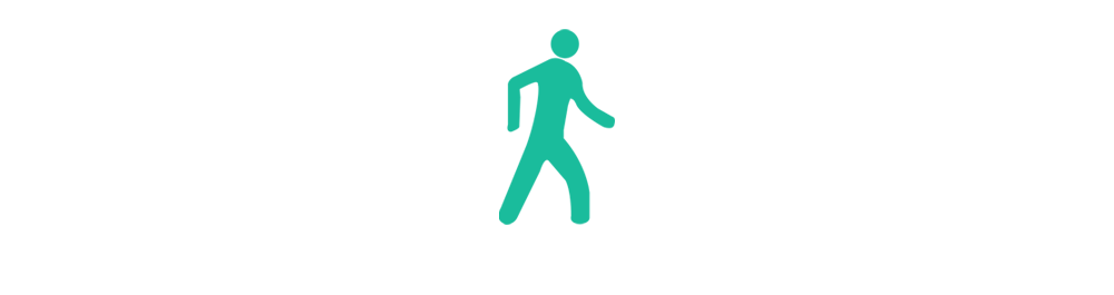 Google Glass - Walking Icon