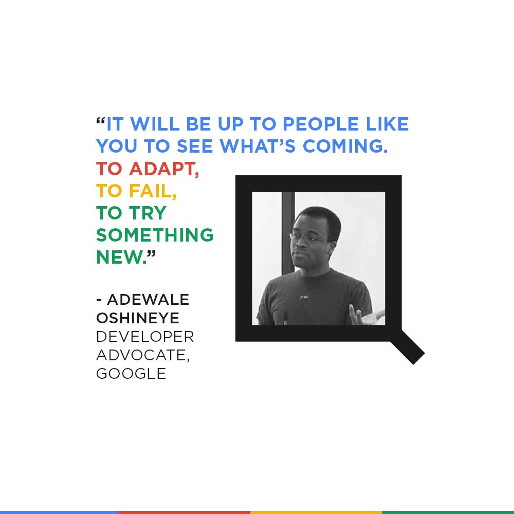Adewale Oshineye Quote