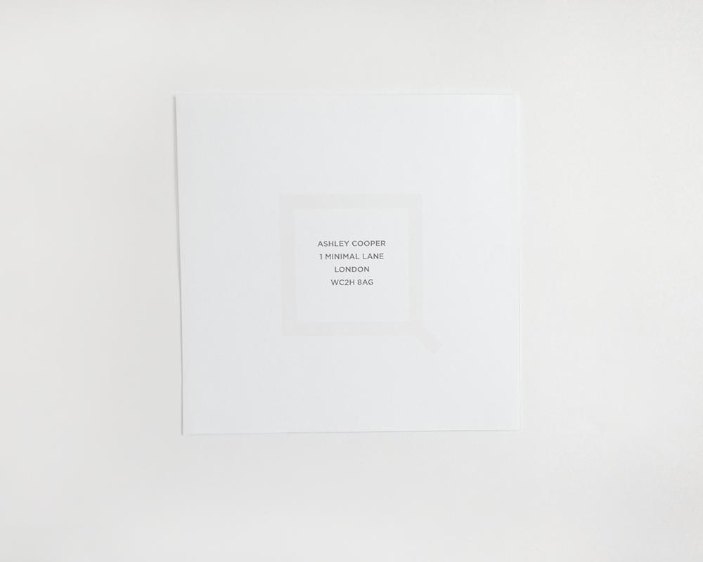 SQUARED Envelope Front