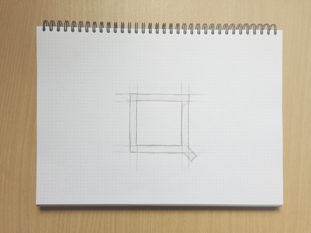 SQUARED Logo Sketch Full