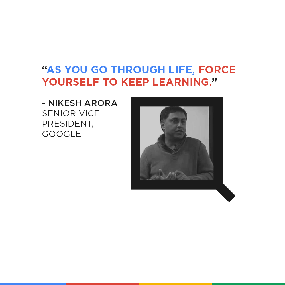 Nikesh Arora Quote