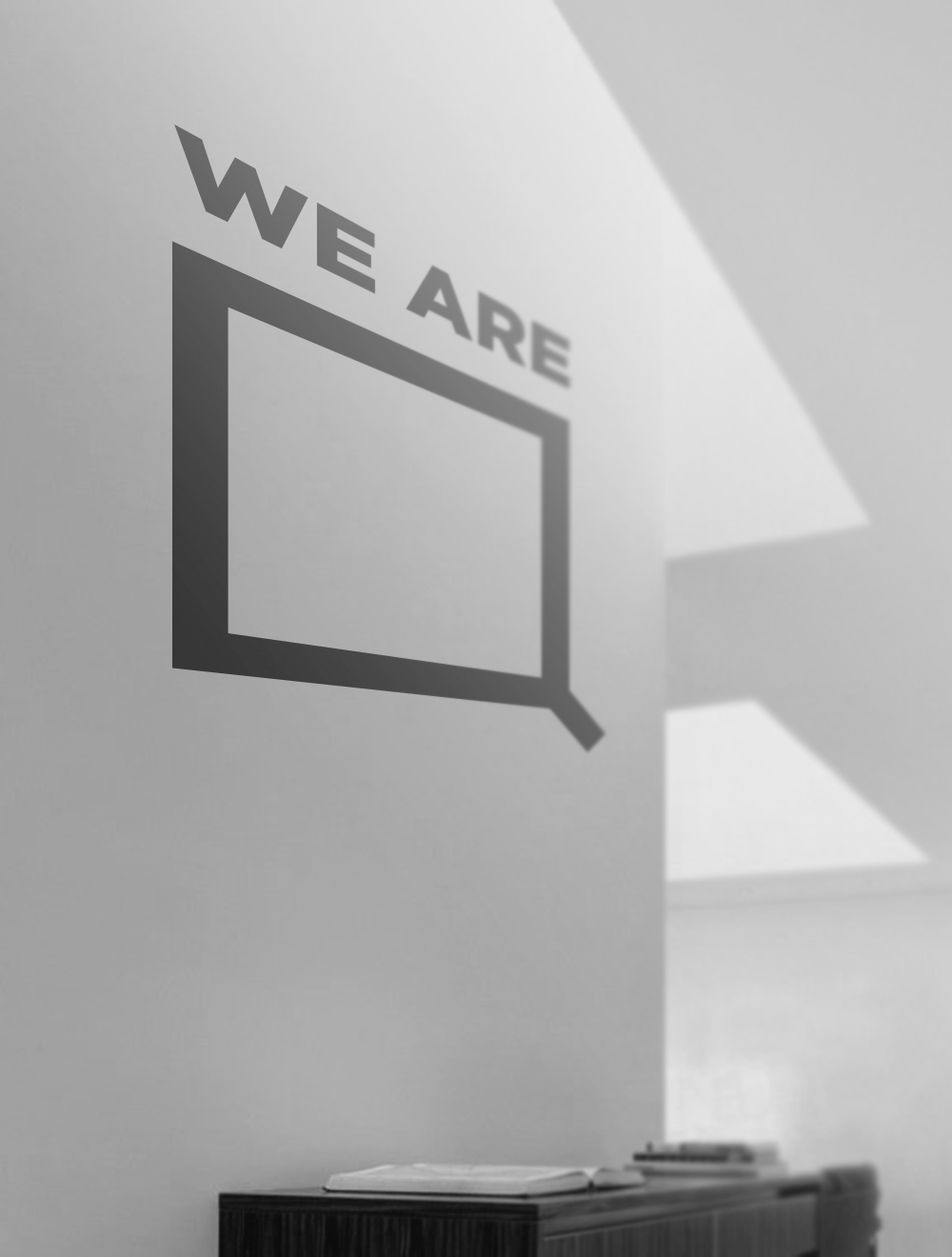 We Are SQUARED Wall Vinyl