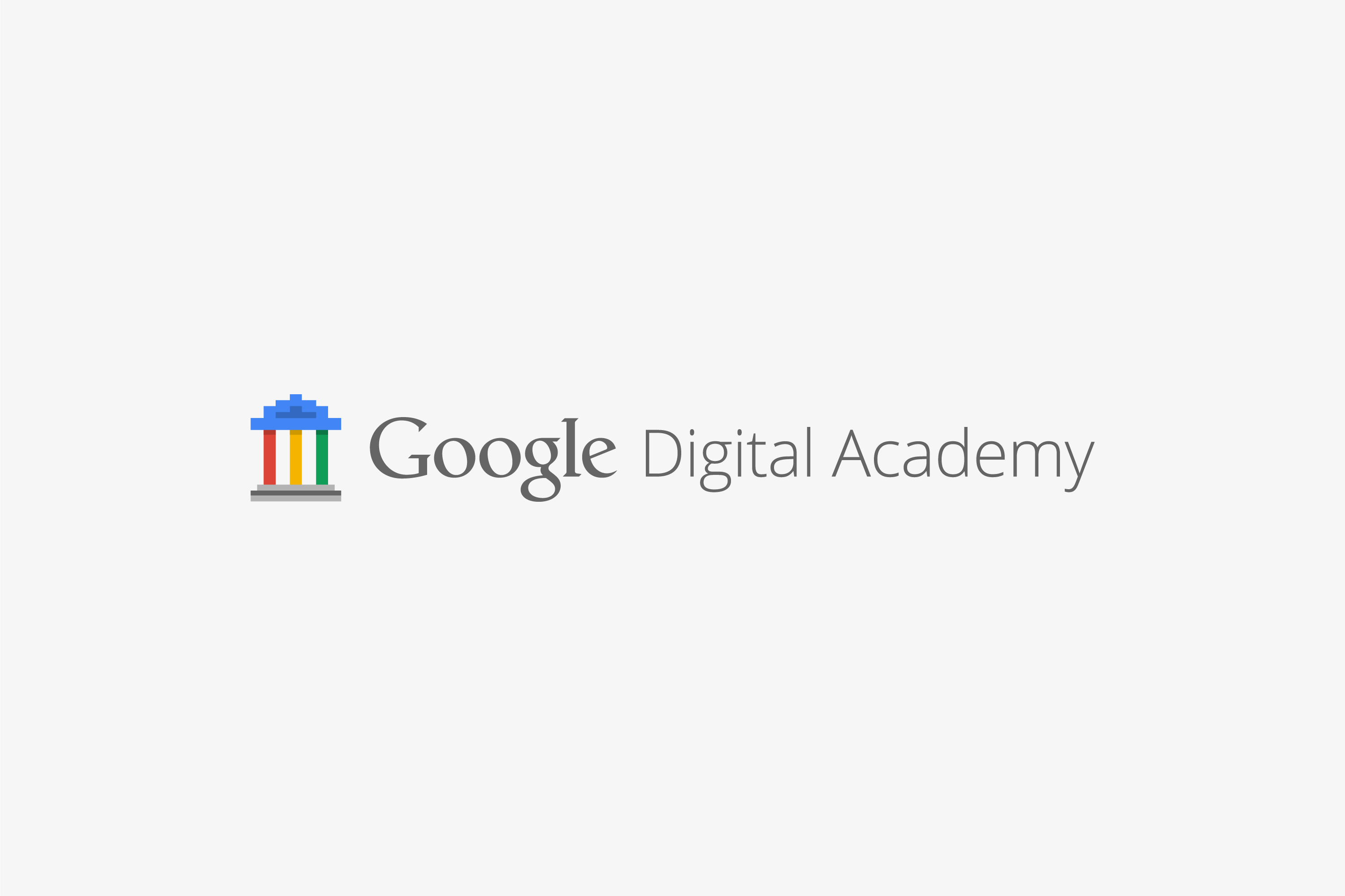Google Digital Academy Logo Draft