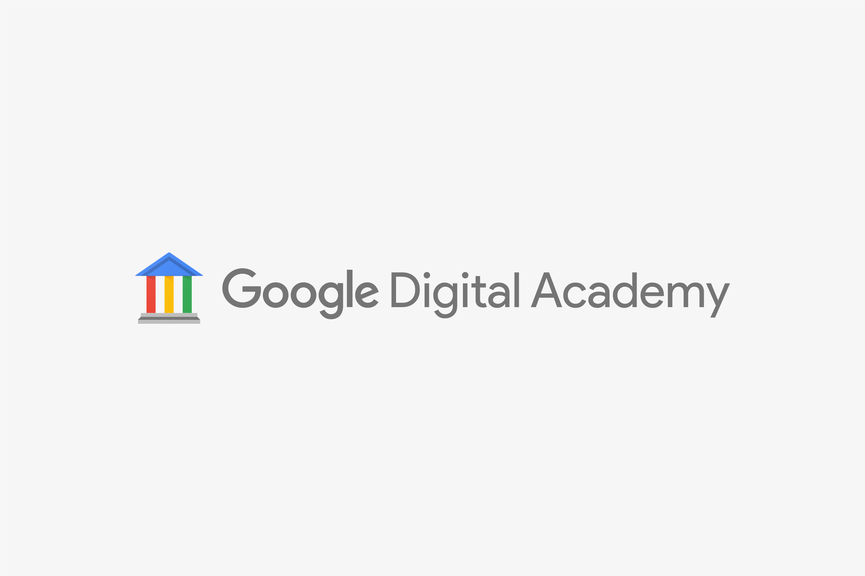 Google Digital Academy Logo Lockup