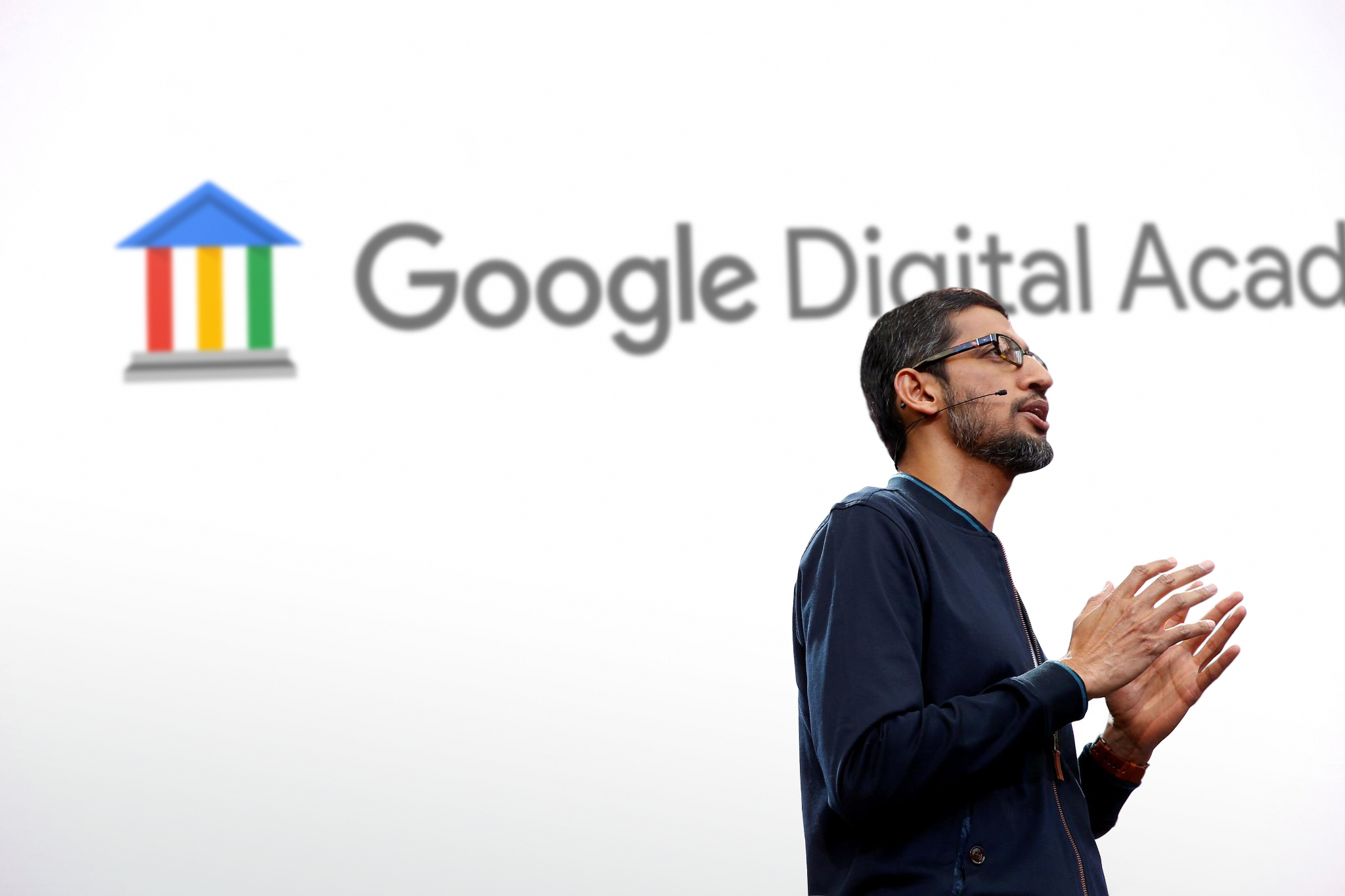 Google Digital Academy - Sundar Pichai Keynote