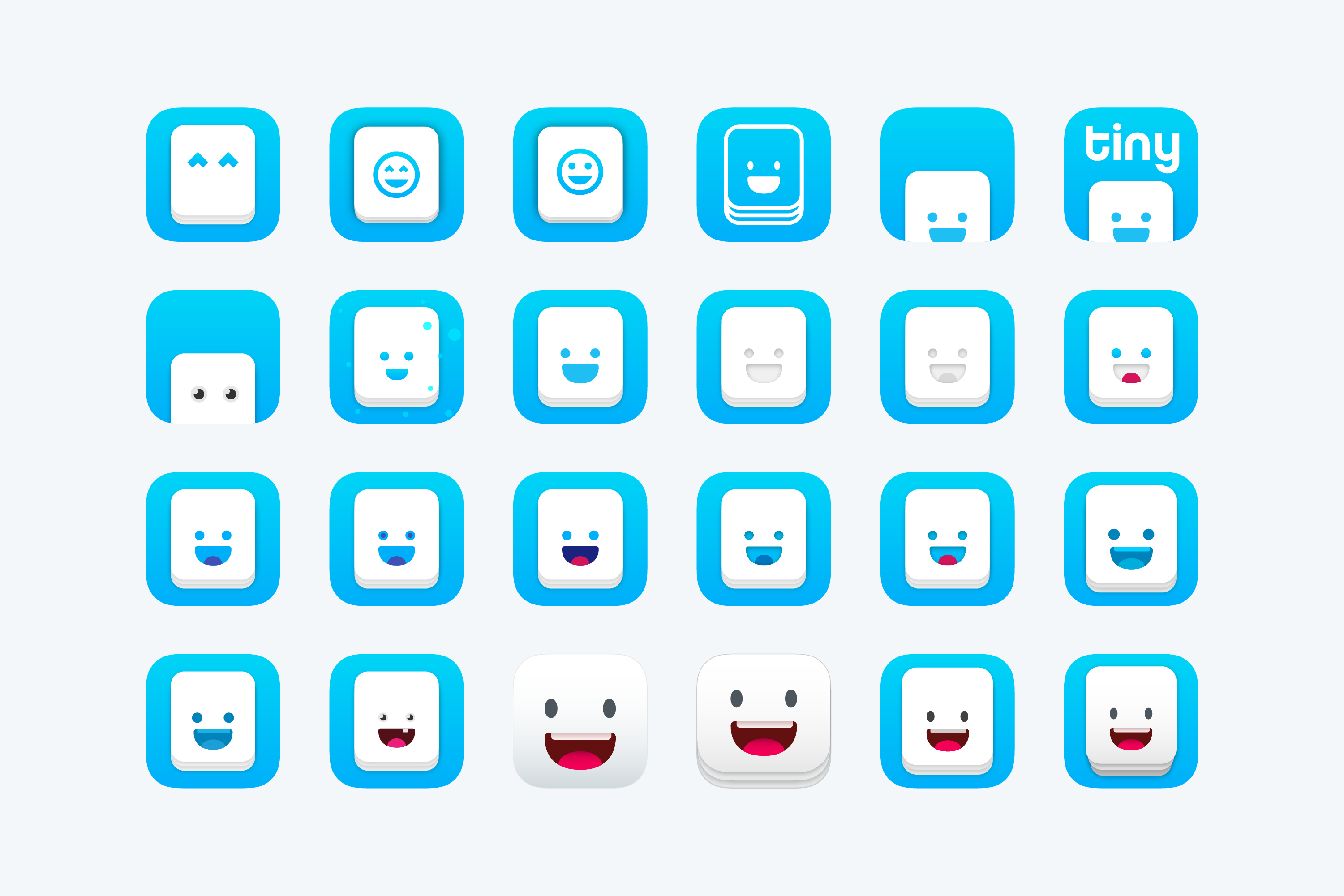 Duolingo Tinycards App Icon Exploration by Jack Morgan