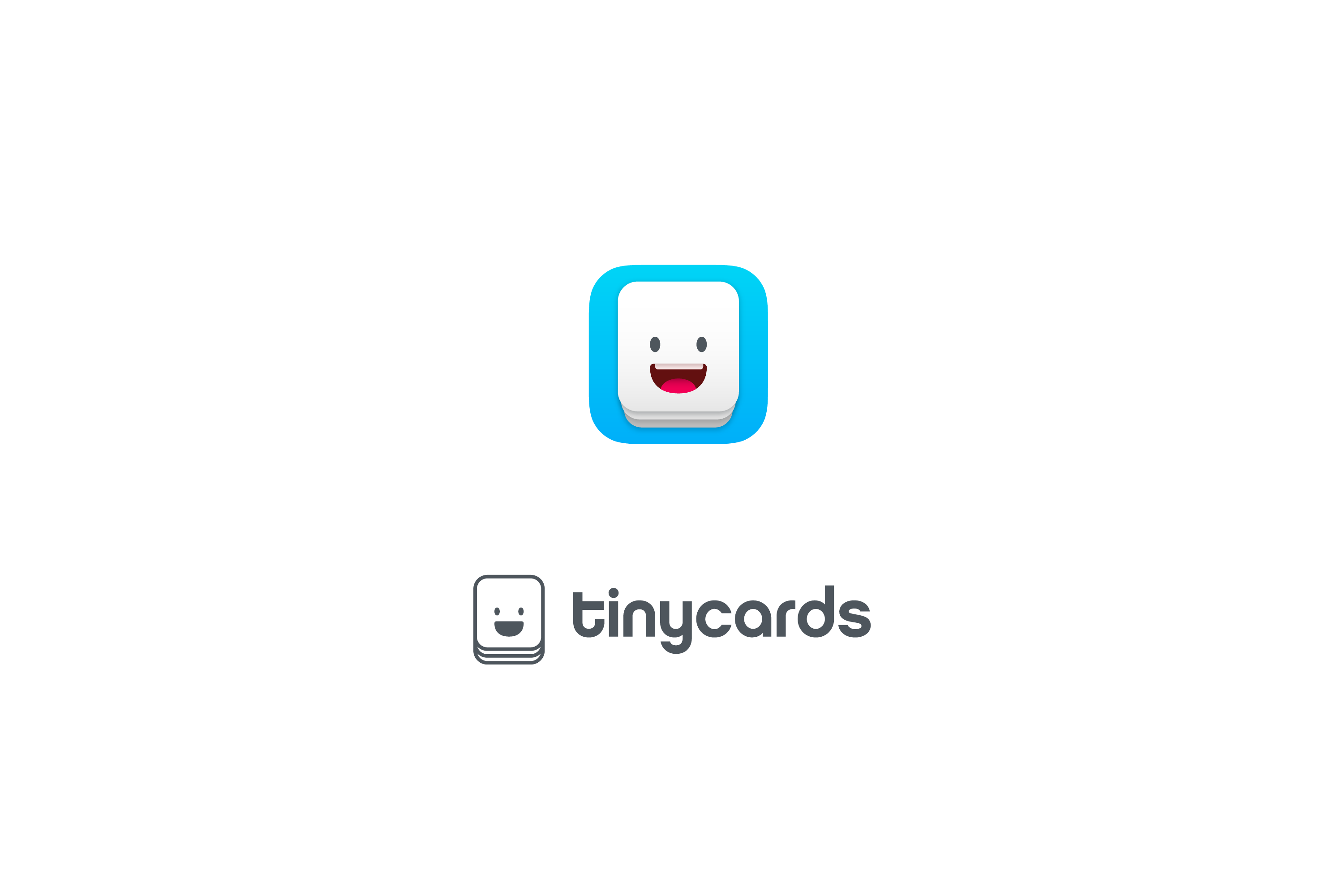 Duolingo Tinycards App Icon Logo by Jack Morgan