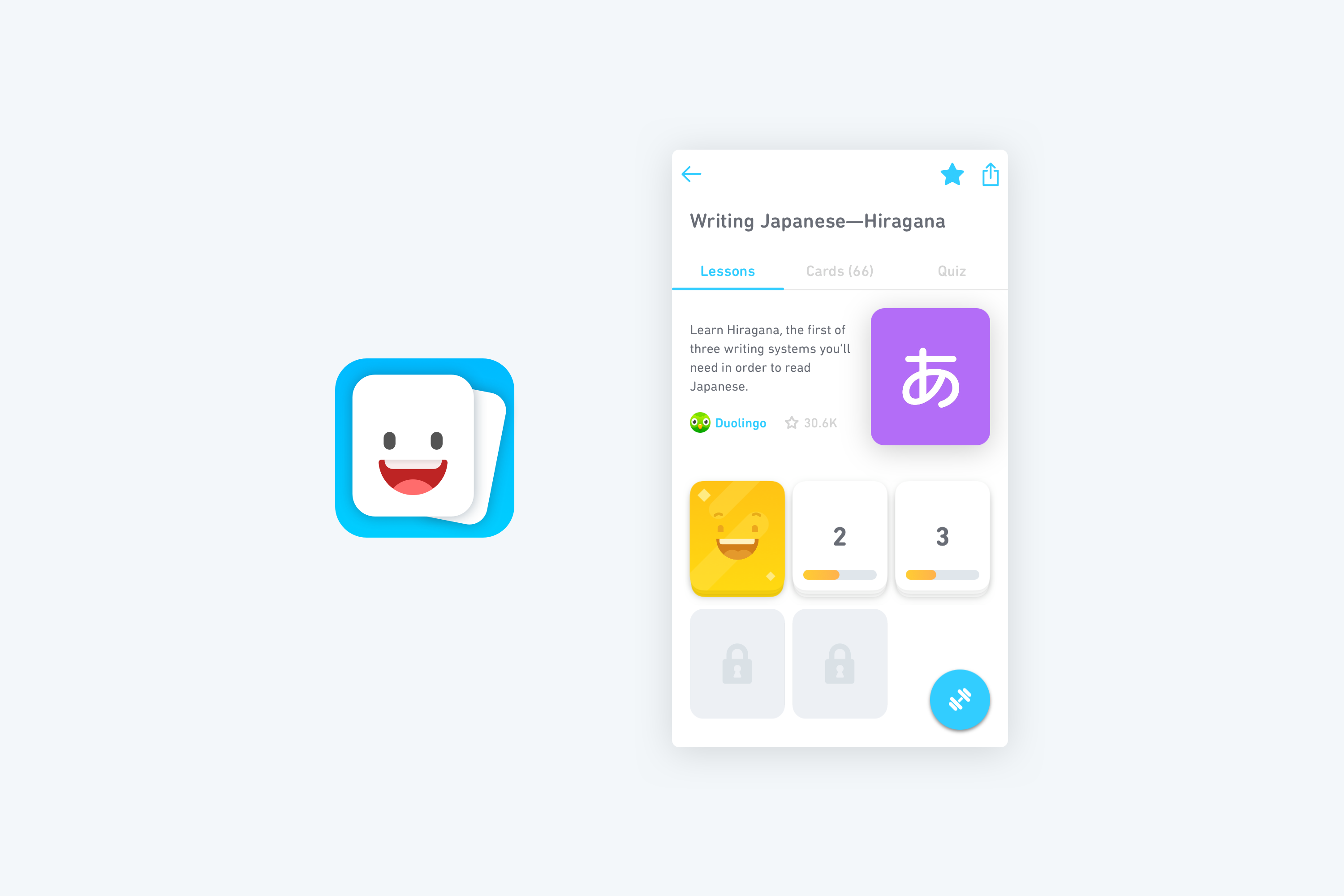 Duolingo Tinycards Design Final