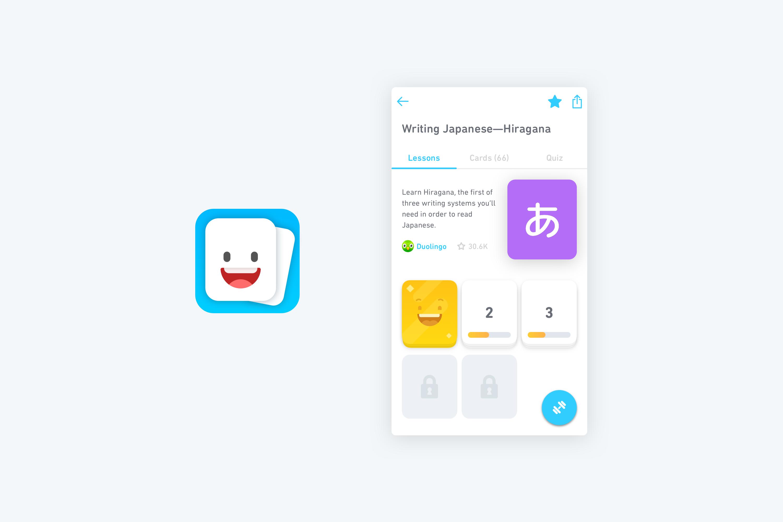 Duolingo Tinycards Design Final