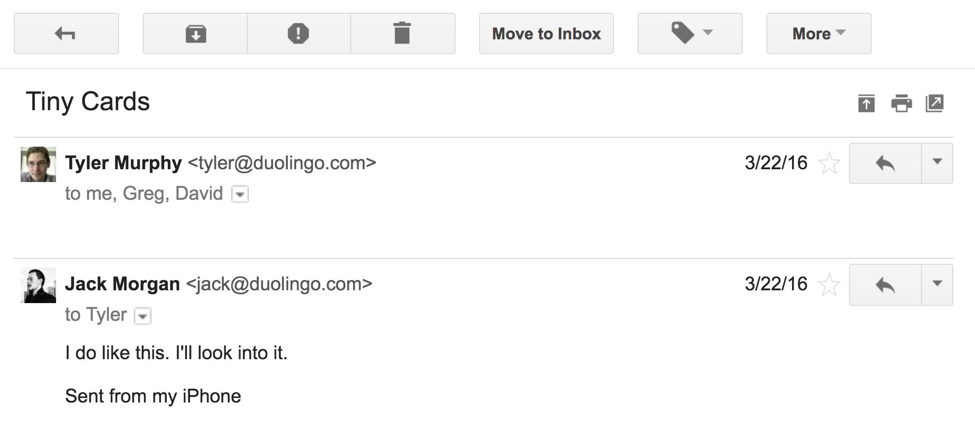 Duolingo Tinycards Naming
