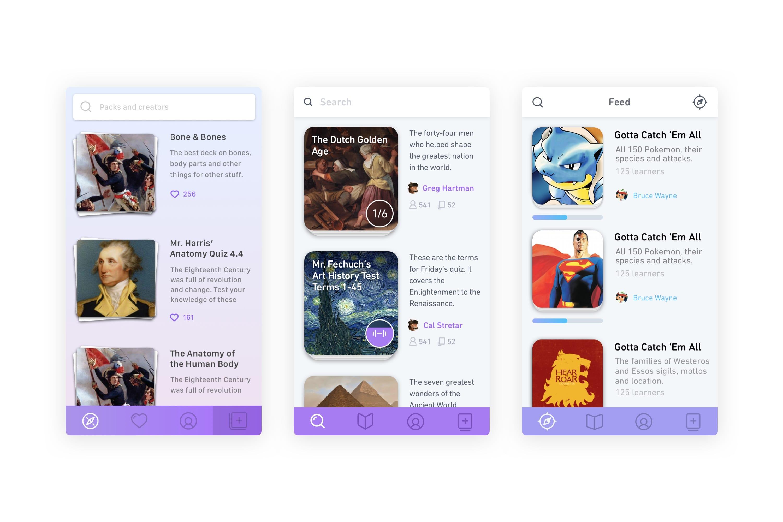 Duolingo Tinycards Original Designs