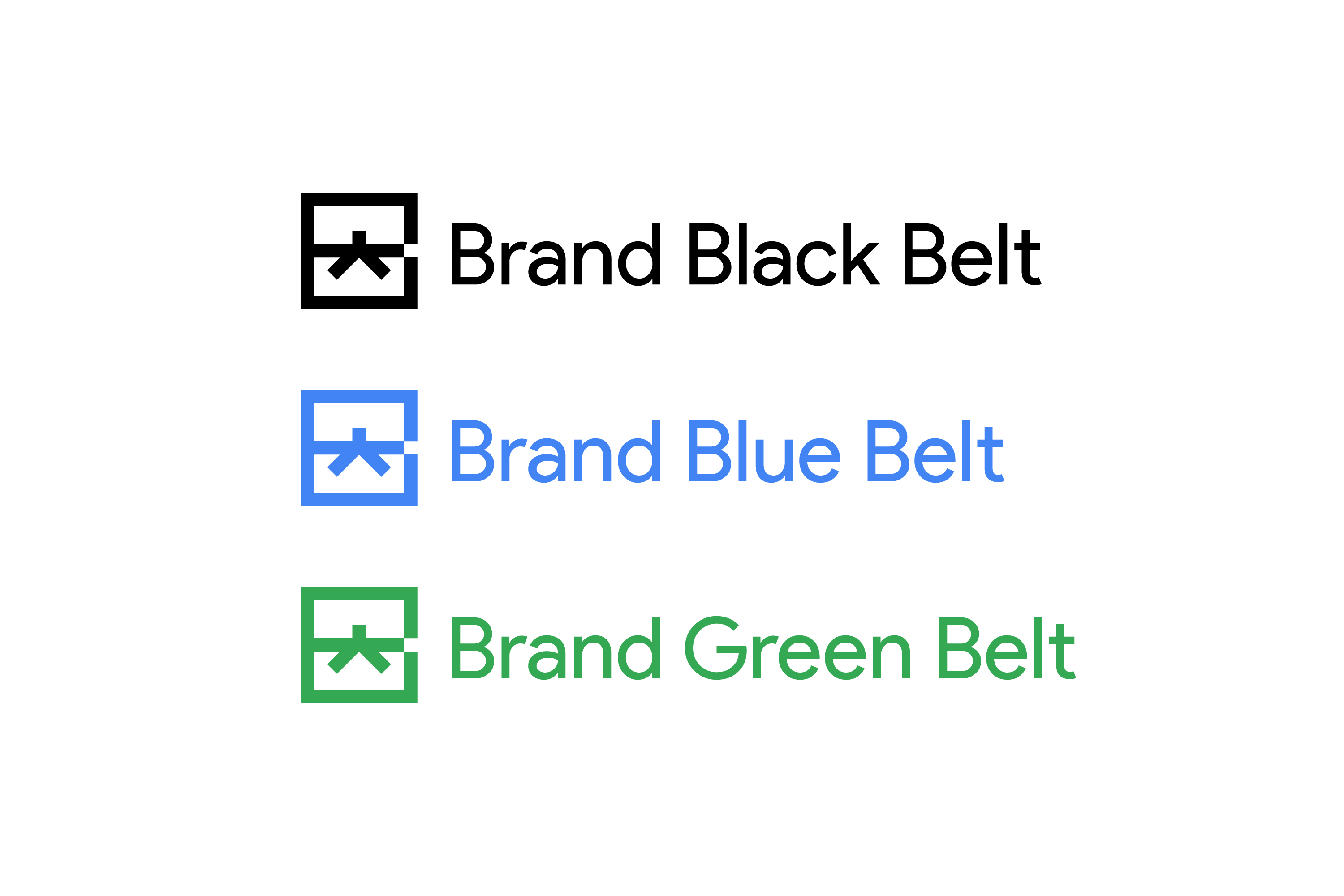 google brand black belt brand identity design jack morgan