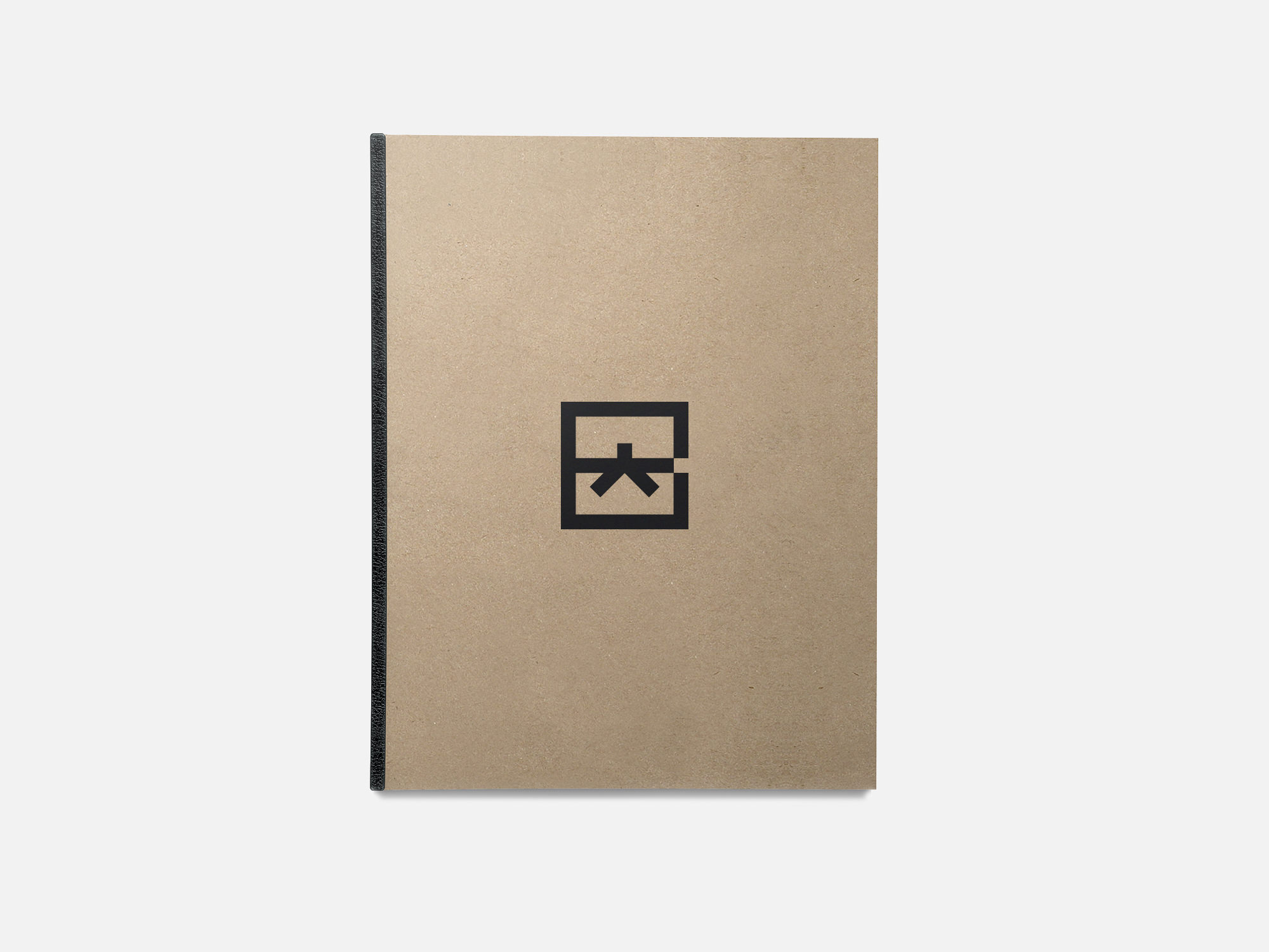 Google Brand Black Belt Notebook