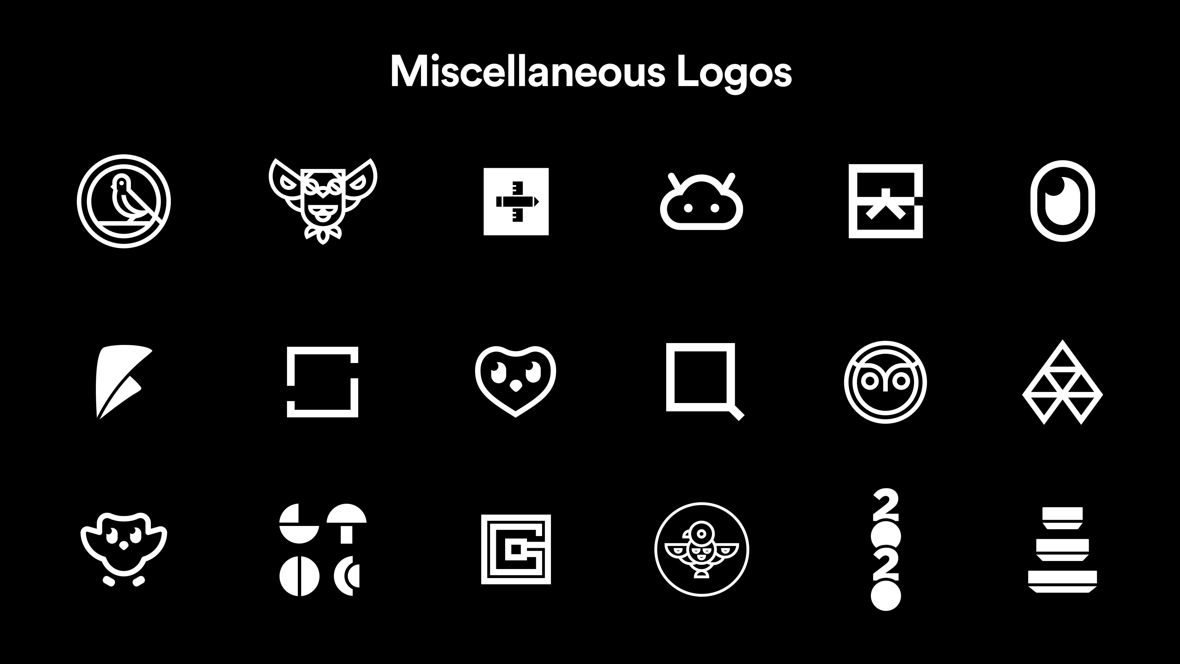 Logos by Jack Morgan