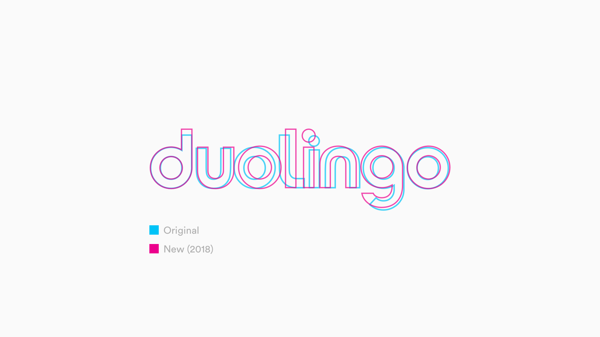 New Duolingo Logo Rebrand Comparison
