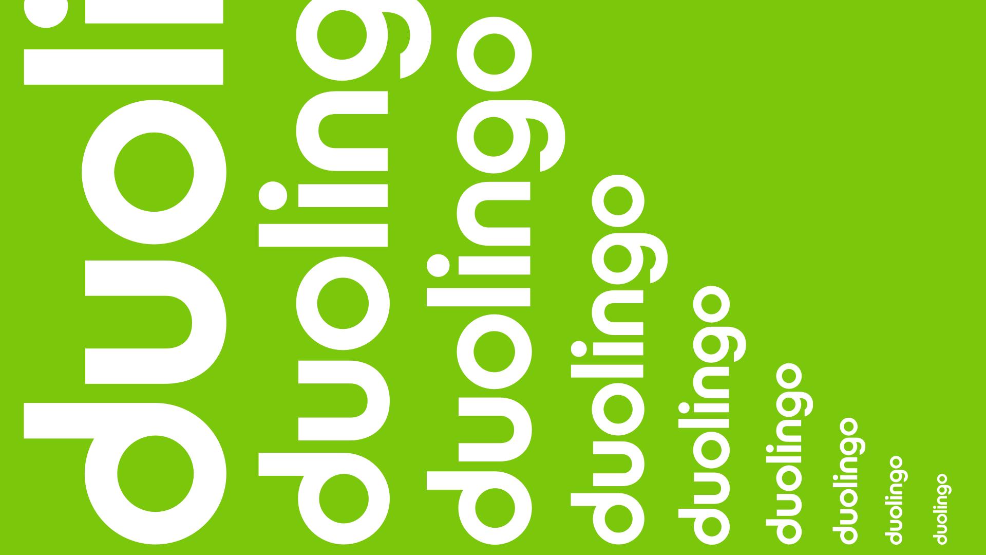 New Duolingo Logo Rebrand Logo Scale