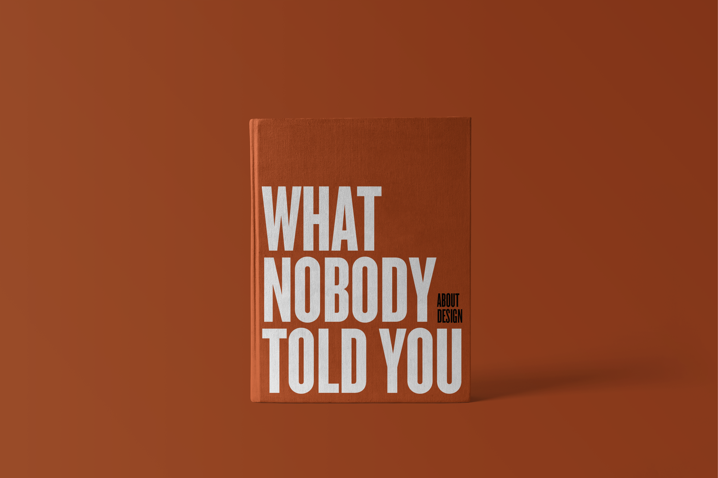 What Nobody Told You by Jack Morgan