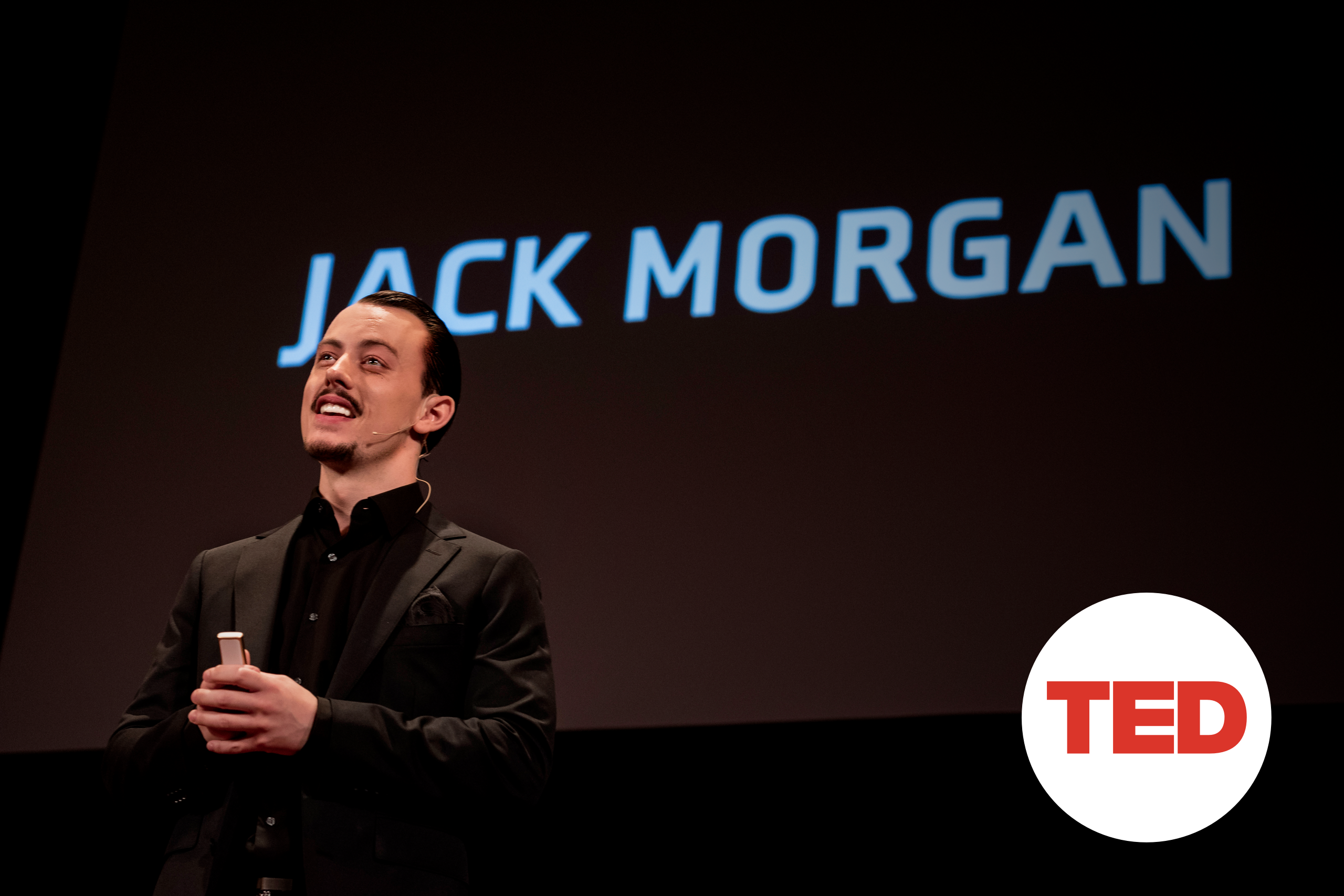 Jack Morgan TED Talk at TEDxPittsburgh 2019 Duolingo