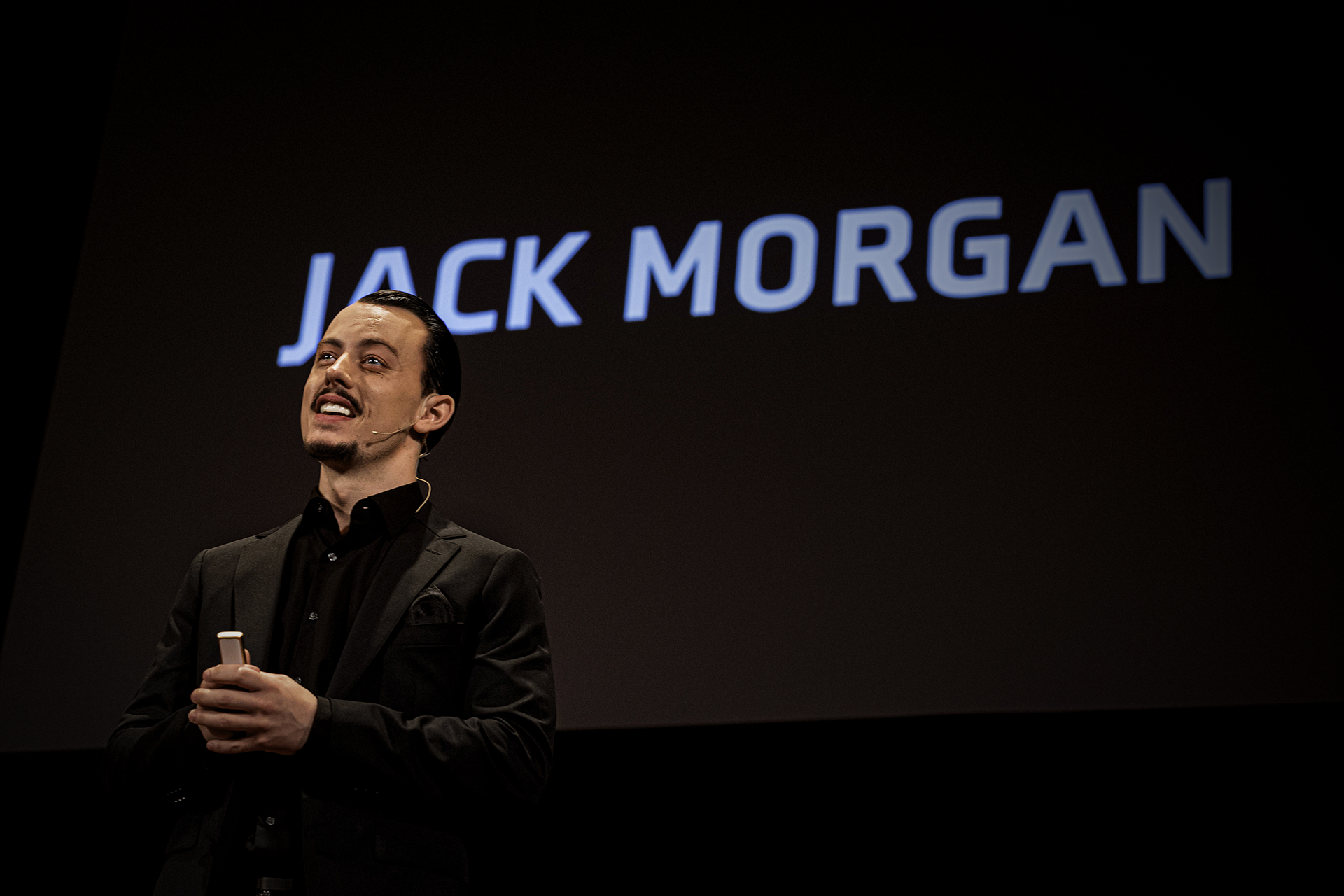 Jack Morgan gives a TED Talk