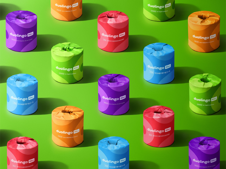 Duolingo Roll colors