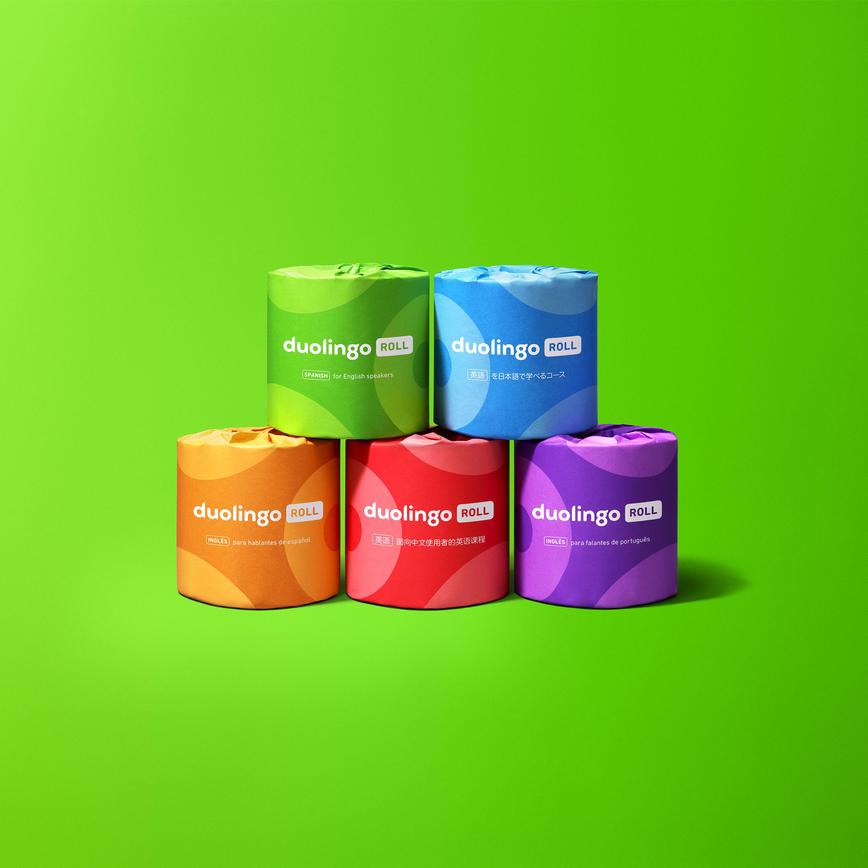 Duolingo Roll family, stacked