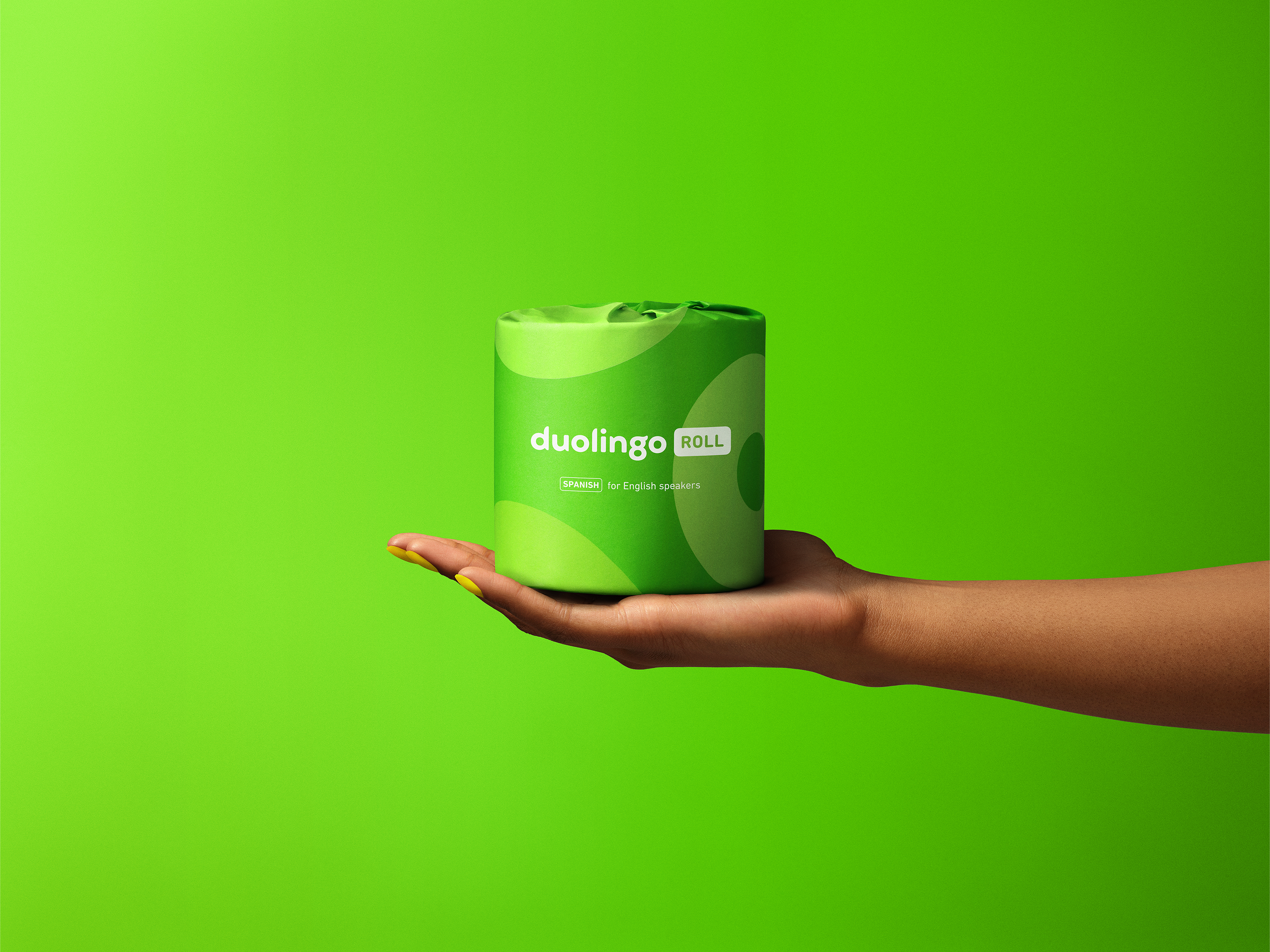 Duolingo Roll in-hand for English speakers