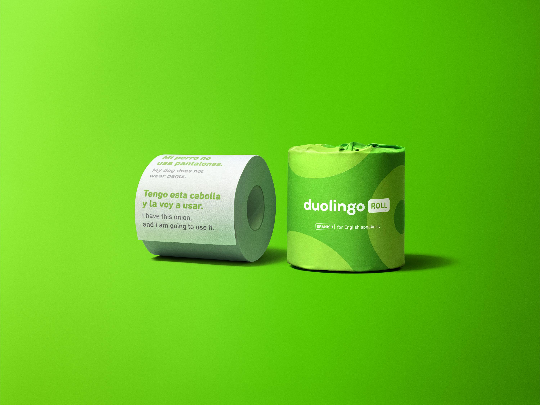 Duolingo Roll unwrapped